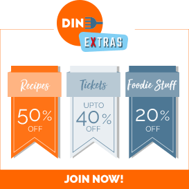 Join us today and get access to all the benefits of Dine Extras!