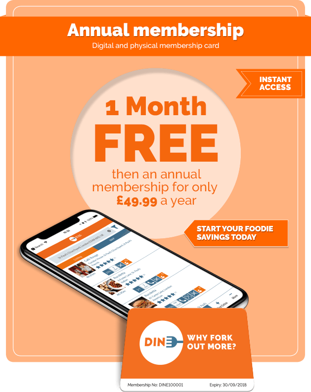 1 Month free then an annual membership for only £49.99 a year
